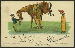 ALTE POSTKARTEN - VARIA PFERDE, Postkarte Von Philipp & Kramer Wien, Auslandskarte - Postkaarten