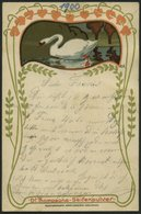 ALTE POSTKARTEN - VARIA DR. THOMPSONS -SEIFENPULVER, Jugendstil-Werbekarte Von 1900 - Postkaarten