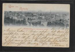 AK 0359  Gruss Aus Karlsruhe - Südstadt Vom Lauterberg Aus Gesehen Um 1897 - Karlsruhe
