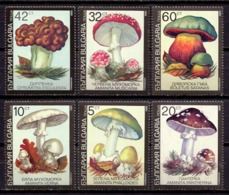 Bulgaria 1991 / Mushrooms MNH Pilze Setas Champignons / C10709  34-15 - Hongos