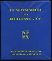 PHIL. LITERATUR De Vervalsingen Van Nederland & Co. - Indië, Ned. Nieuw-Guinea, Curaçao, Suriname, 1978, P.F.A. Van De L - Philatelie Und Postgeschichte