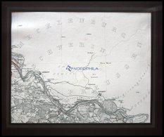 Schnackenburg, Die Gegend Von Dömitz Bis Schnackenburg, Grenzkolorierter Ku- Grenzkolorierter Kupferstich Von Papen, 184 - Karten