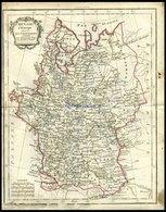 Europäisches Rußland, Russie D`Europe, Grenzkolorierter Kupferstich Aus Delamarché Petit Atlas Um 1785 - Karten
