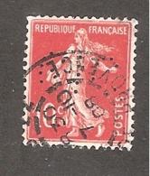 Perforé/perfin/lochung France No 138 CIC Crédit Industriel Et Commercial (170) - Frankreich