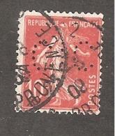 Perforé/perfin/lochung France No 138 CIC Crédit Industriel Et Commercial (170) - Perfins