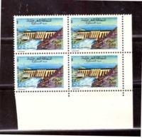 Maroc. Coin De 4 Timbres N° 902 De 1981. Barrage Al Massira. Settat. - Rotes Kreuz