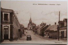02 Aisne - THENELLES - Grande-Rue - L'église       /2f - Frankrijk