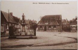 02 Aisne - THENELLES - Place Du Monument Aux Morts       /2f - Frankrijk
