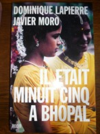 Dominique Lapierre & Javier Moro: Il était Minuit Cinq à Bhopal/ LGLDM, 2001 - Bücher, Zeitschriften, Comics
