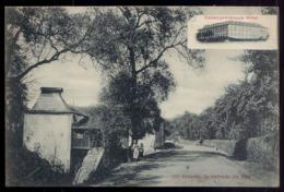 Um Recanto Da Estrada De VAU. Publicidade Hotel Caldelas (Braga). Postal Edição Photographia Guedes PORTO PORTUGAL 1910s - Braga