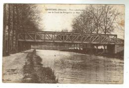 CAPESTANG - Pont Métallique Sur Le Canal De Navigation Du Midi - Capestang