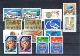 UNO New York: Jahrgang 1974 /yearset Complete Mi. 264-278, Sc.244-255, Yv. 237-248,** MNH,  ABO-Qualität!!, S. Scan - Neufs