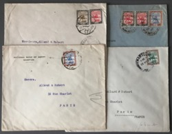 Soudan (Sudan) - Lot De 4 Lettres - (B2437) - Sudan (...-1951)