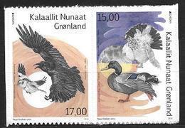 Groënland 2019, Série Neuve Adhésive Issue De Carnet Europa Oiseaux - Groenlandia