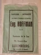 Papeterie-Imprimerie, Eug. Hoffman - Errors & Oddities