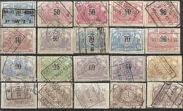 _9Sp-931:restje 20zegels: 3de Uitgifte ..om Verder Uit Te Zoeken. - 1895-1913