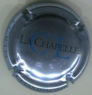 CAPSULE-CHAMPAGNE CL DE LA CHAPELLE N°22a Argent Violacé-ECRIN - Clos De La Chapelle