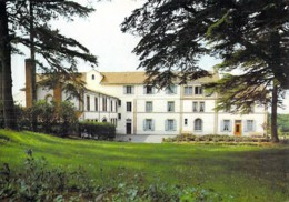 """44 - BOUSSAIS : Maison Hospitalière """" LA JONCIERE """" ( Hopital ) CPSM Dentelée Noir Blanc Grand Format - Loire Atlantique - Boussay"""