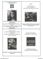 Biglietto - 2019 ROMA Mostra LEONARDO A ROMA A Villa Farnesina - Tickets D'entrée