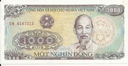 VIET NAM 1000 DONG 1988 UNC P 106 - Vietnam