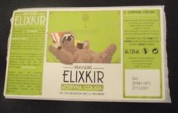 BIERE FRANCE : ETIQUETTE ELIXKIR HOPPYNA COLADA - NEUVE - Beer