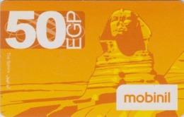 Télécarte EGYPTE - Histoire Antiquité - Sphynx - EGYPT Rel. Prepaid Phonecard - ÄGYPTEN - Site 261 - Cultura