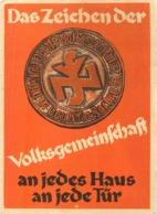 DAS ZEICHENDER PATRIOTISME ALLEMAND DEUTSCHLAND Patriotismus KRIEG PROPAGANDA COLOGNE  KÖLN FÜRHER HITLER WW2 - Heimat