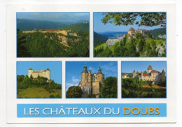 Le Doubs Et Ses Chateaux--Multivues--beau Timbre--cachets Ronds   FRAMBOUHANS-LES-ECORCES-25 - Other Municipalities