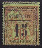 Guadeloupe N° 8  Oblitéré  VARIETE - Voir Verso & Descriptif - - Gebruikt