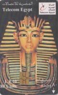 Télécarte à Puce EGYPTE - Histoire Antiquité - PHARAON RAMSES II - EGYPT Chip Phonecard - ÄGYPTEN - Site 263 - Cultura