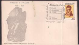 Uruguay - 1981 - Cachets Spéciaux - FDC -  Alexander Von Humboldt - Uruguay