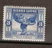 Sierra Leone, 1933, SG 172, Mint Hinged - Sierra Leone (...-1960)