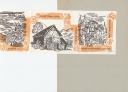 Nieuwjaarskaart 1963 Hermann Huffert (1915-1995) Gesigneerd - Estampes & Gravures