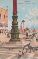 Venezia - Piazzetta S. Marco Con Antenna - Venezia (Venice)