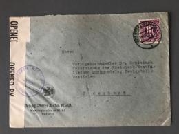 Autriche, Lettre Pour Paris, Cachet De Censure Violet MILITARY CENSORSHIP CIVIL MAILS 16151 - (B2459) - Briefe U. Dokumente