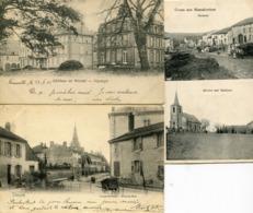 57 3 CP Diverses   Vendu Franco - Autres Communes