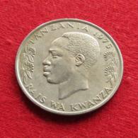 Tanzânia 1 Shilingi 1975 KM# 4 *V2 Tanzanie - Tanzania