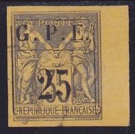 Guadeloupe N° 2 Oblitéré  B De Feuille - Voir Verso & Descriptif - - Used Stamps