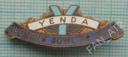 Australia / Badge / Bowling. Women's Club YENDA 1960-70s - Bowling