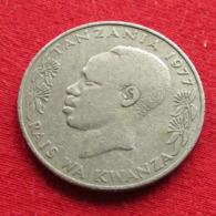Tanzânia 1 Shilingi 1977 KM# 4 *V1 Tanzanie - Tanzania
