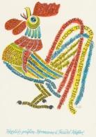 Nieuwjaarskaart 1971 Hermann Huffert (1915-1995) - Estampes & Gravures
