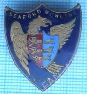 England  / Badge / Bowling Club SEAFORD 1960-70s - Bowling