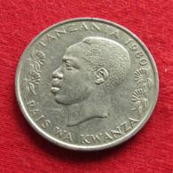 Tanzânia 1 One Shilingi 1980 KM# 4 Tanzanie - Tanzania