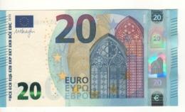 20 EURO  'Spain'    Draghi  V 004 H2   VA2558023004 /  FDS - UNC - EURO
