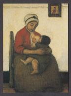 PS126/ Jakob SMITS, *Groot Rood Moederschap - Grande Maternité Rouge*, Liège, Musée Des Beaux-arts - Peintures & Tableaux