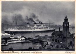 """PAQUEBOT : """" CAP ARCONA """" - HANSESTADT HAMBURG / GERMANY ~ 1940 (ad329) - Passagiersschepen"""