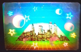 Télécarte Japon / 110-011 - HOLO 3 D - USA - NEW YORK - WTC World Trade Center - Japan HOLOGRAM Phonecard - Cultura