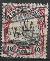 GERMANIA REICH COLONIA  AFRICA DEL SU OWEST 1900  SOPRASTAMPATI YVERT. 19  USATO VF - Colony: German South West Africa
