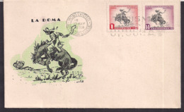 Uruguay - 1954 - Cachets Spéciaux - FDC - La Doma - Uruguay