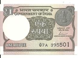 INDE 1 RUPEE 2017 UNC P 117 C - India